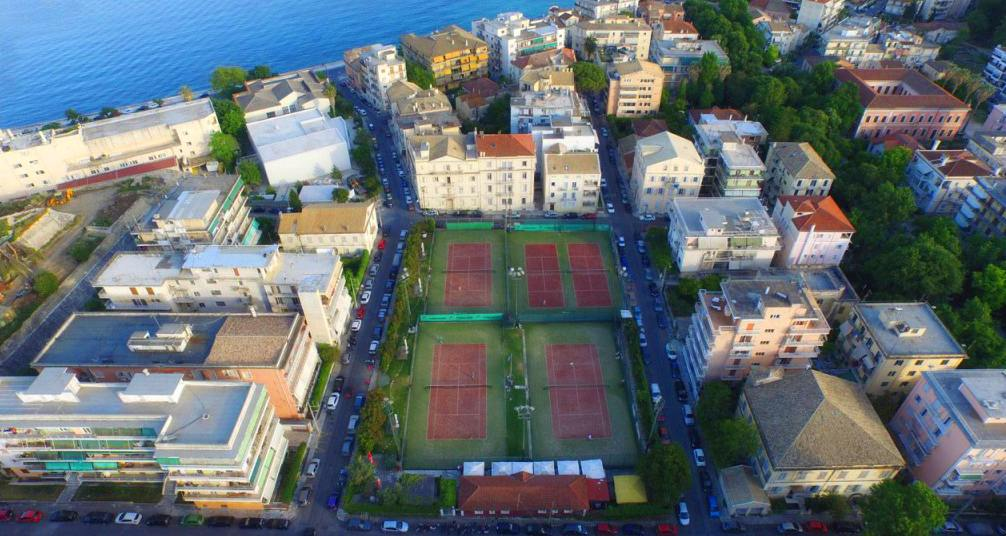 tennis in corfu - corfu tennis courts - ionian summer