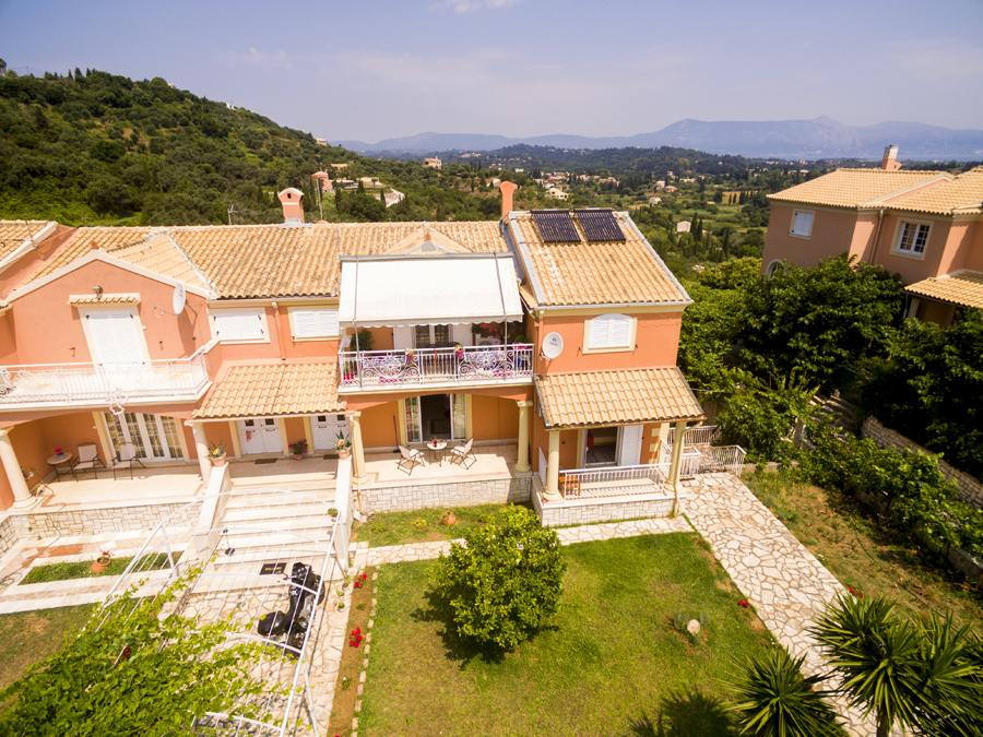 corfu town villas - corfu town luxury apartments - ionian summer