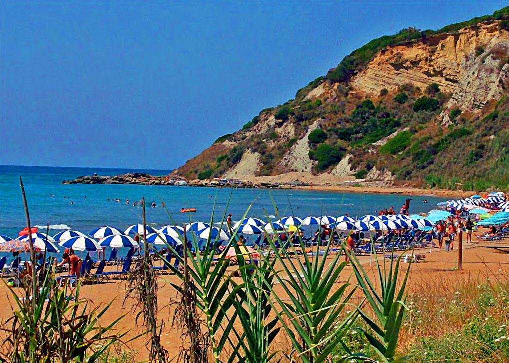 cheap holiday apartments in corfu - cheap holiday apartments in corfu - gardeno beach - ionian summer