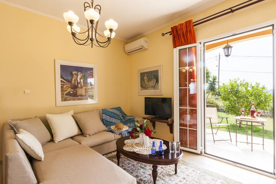 corfu town luxury rental - corfu town luxury resort - ionian summer