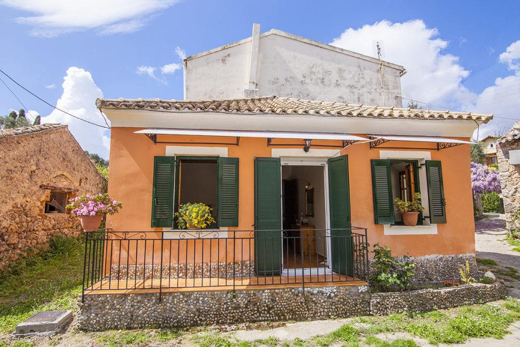 cottage in corfu traditional home - ionian summer