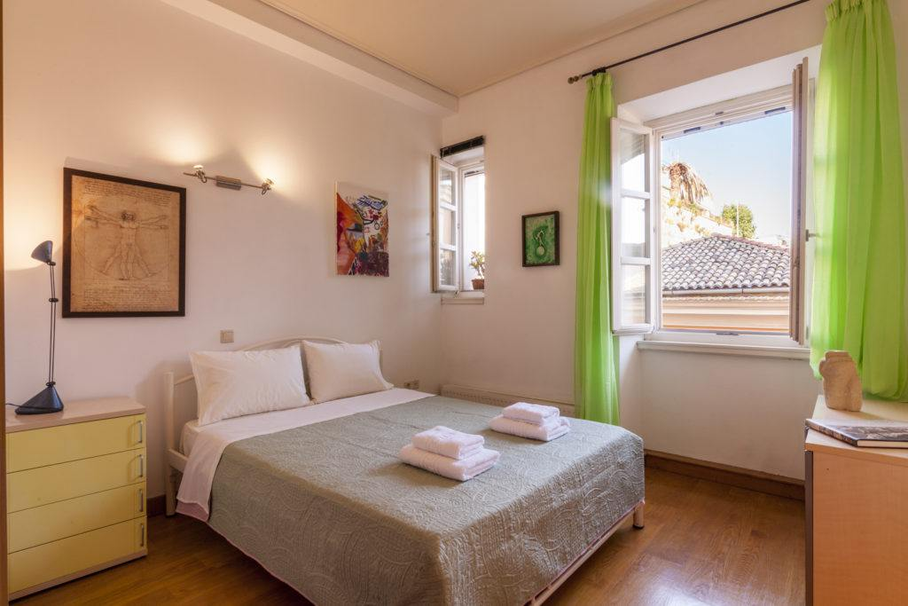 corfu town family rooms - corfu town luxury rooms - ionian summer
