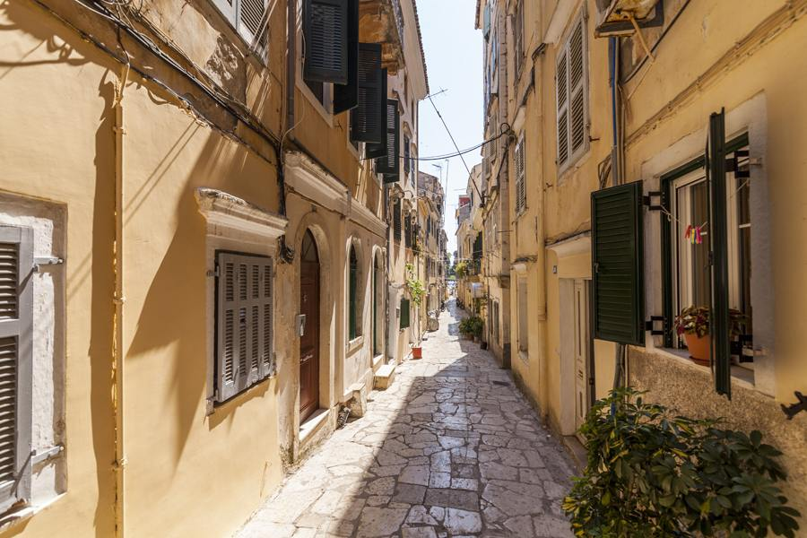 old town corfu - old town corfu rentals - ioniansummer.com
