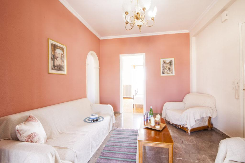 family apartment in corfu town - family room in corfu town - ionian summer