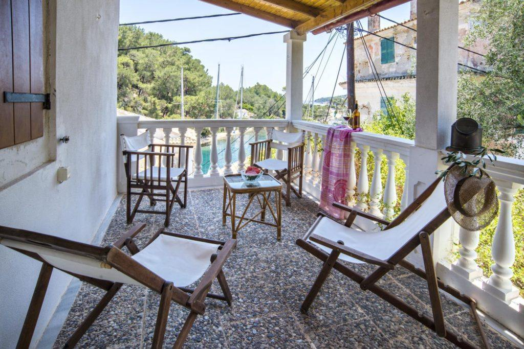 paxos family rooms - gaios family rooms - ionian summer