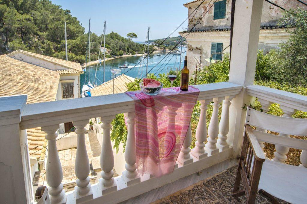 apartments with view in paxos - apartments with view in gaios - ionian summer
