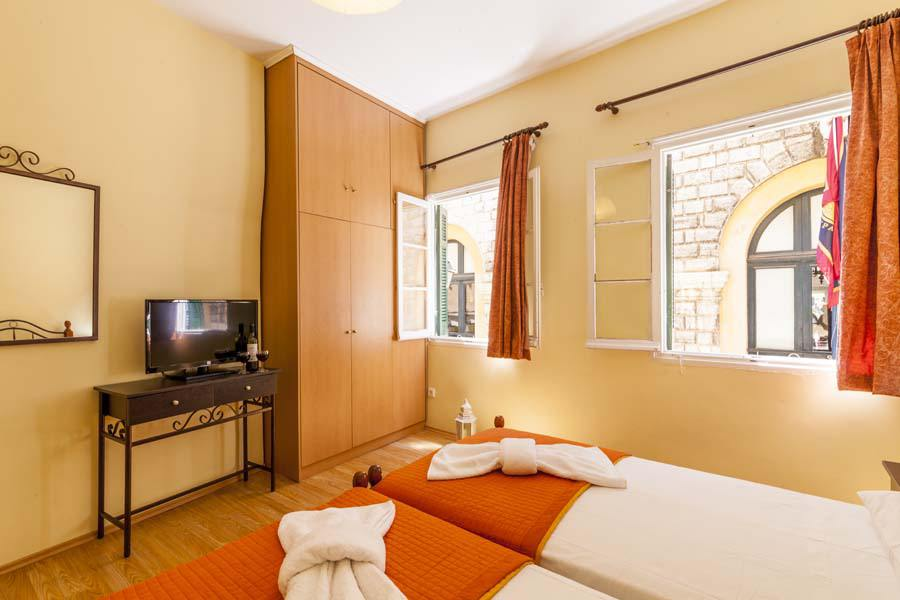corfu town apartments - old town corfu rooms - ionian summer
