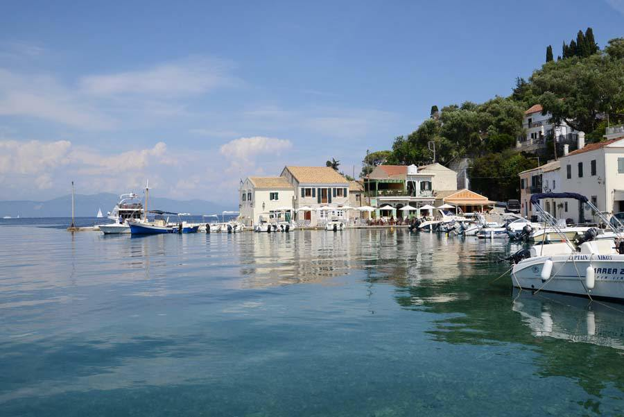 loggos harbor - paxos harbor - ionian summer