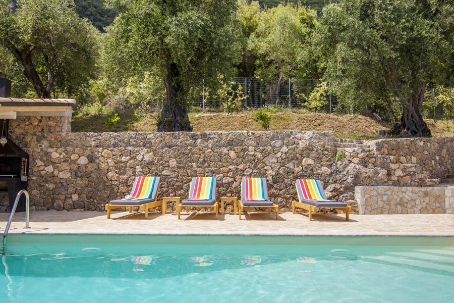 private pool villas in corfu - pool villas in corfu - ionian summer
