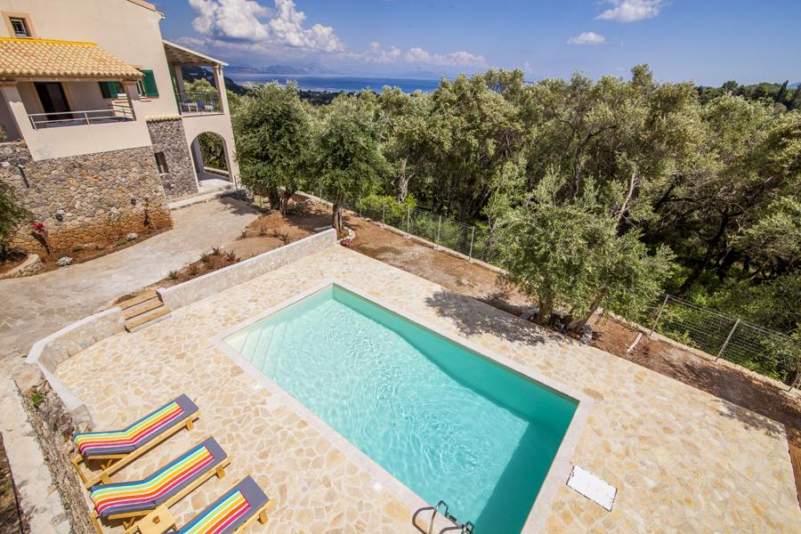 san marcos private villas - san marcos corfu private villas - ionian summer