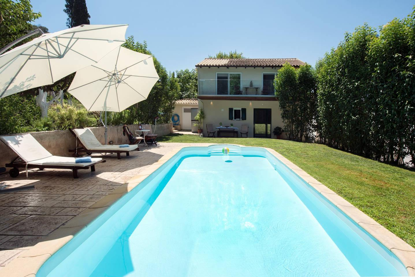 corfu family villas - corfu luxury villas - ionian summer
