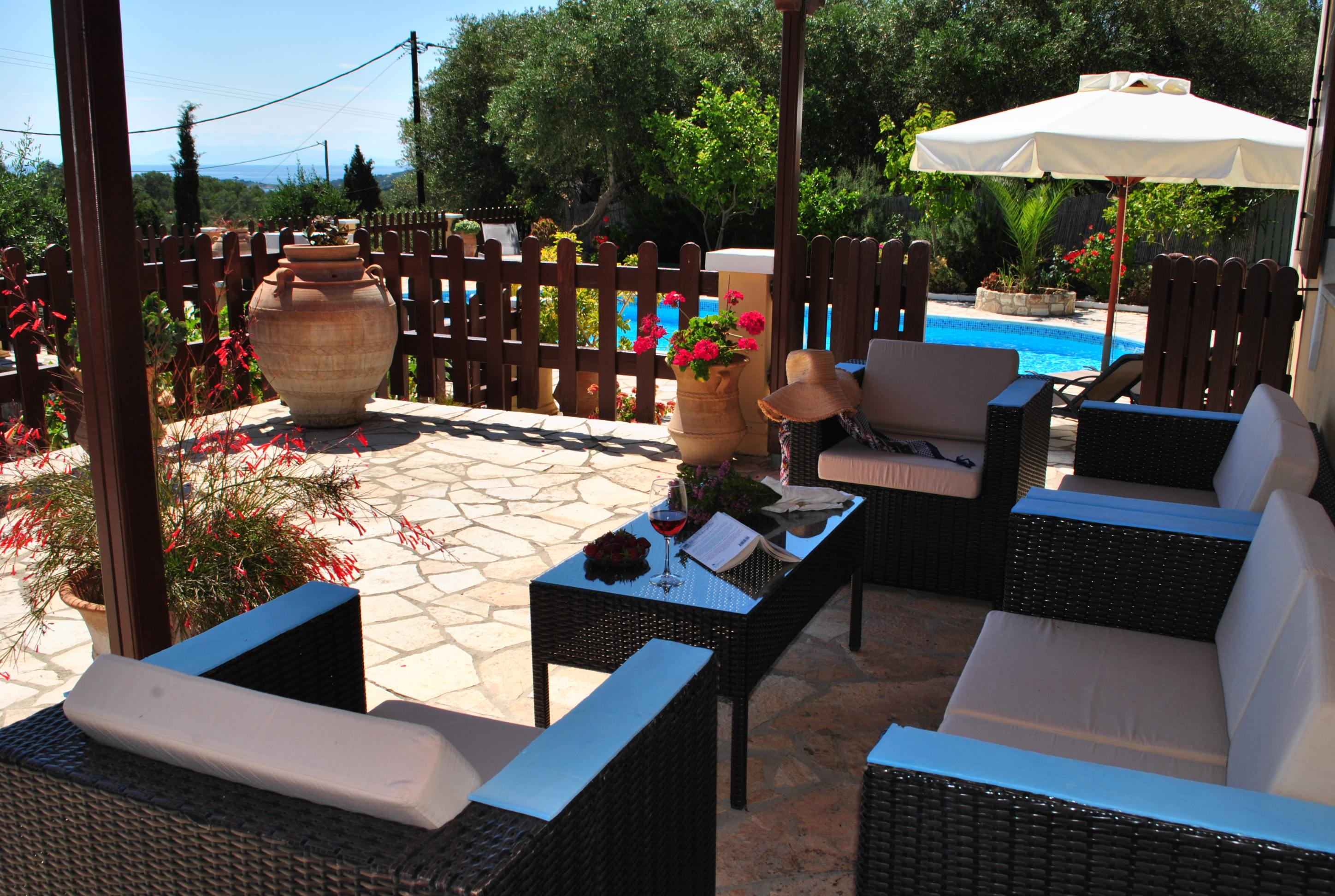 vacation rental for families in paxos - ionian summer