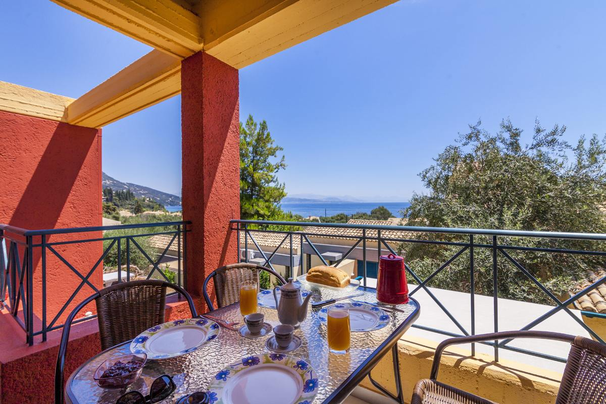 barbati beach apartment - barbati beach house - ionian summer