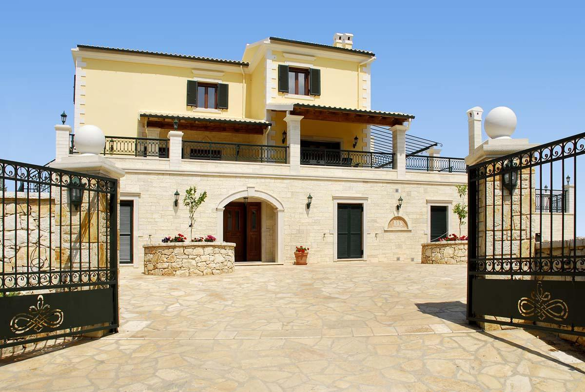corfu luxury villas - corfu family villas - ionian summer