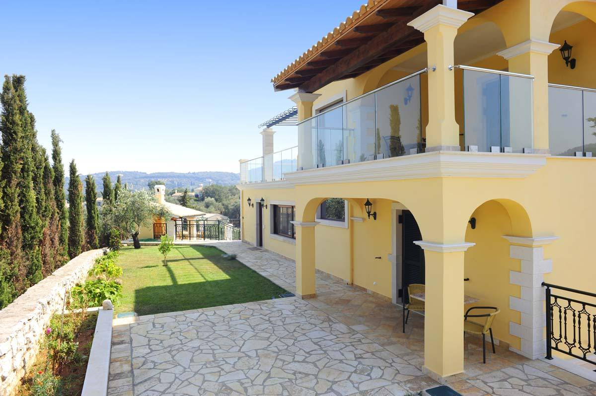 corfu family villas - corfu private pool villas - ionian summer
