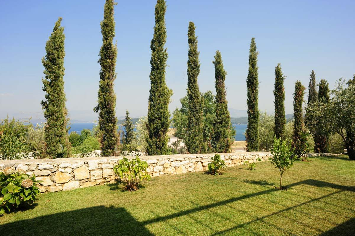 corfu private villas - corfu luxury villas - ionian summer