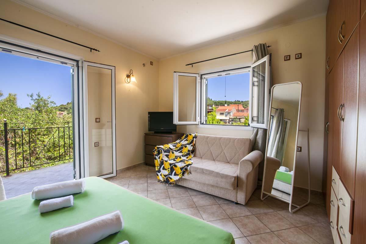 family apartments in corfu - family rooms in corfu - ionian summer