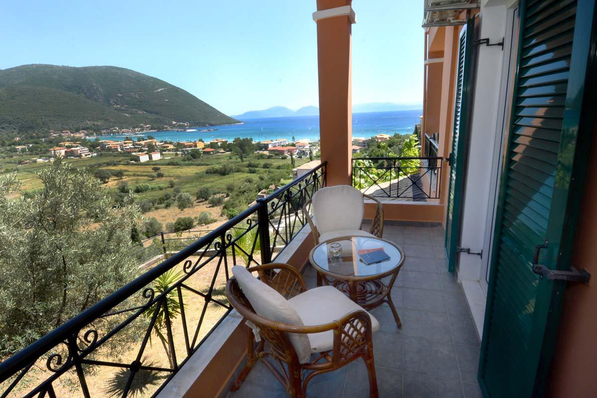 lefkada seaview apartments - ionian summer