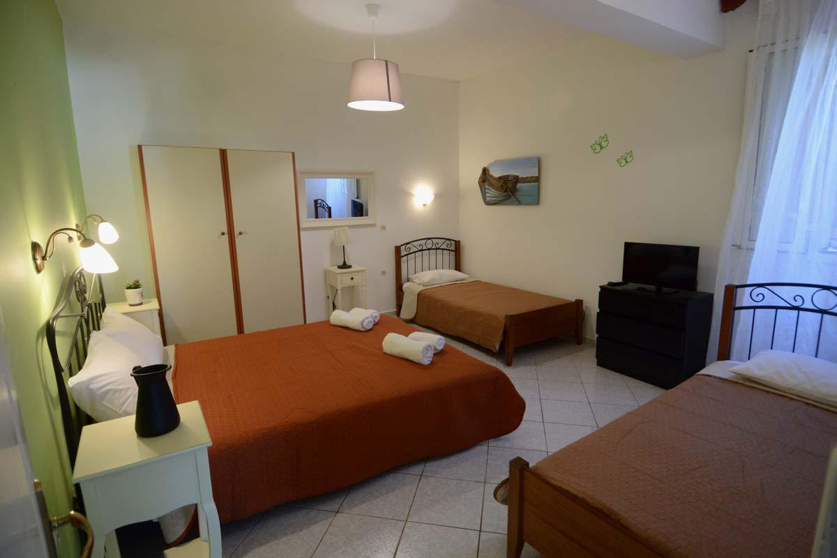 family rooms in lefkada - family apartments in lefkada - ionian summer