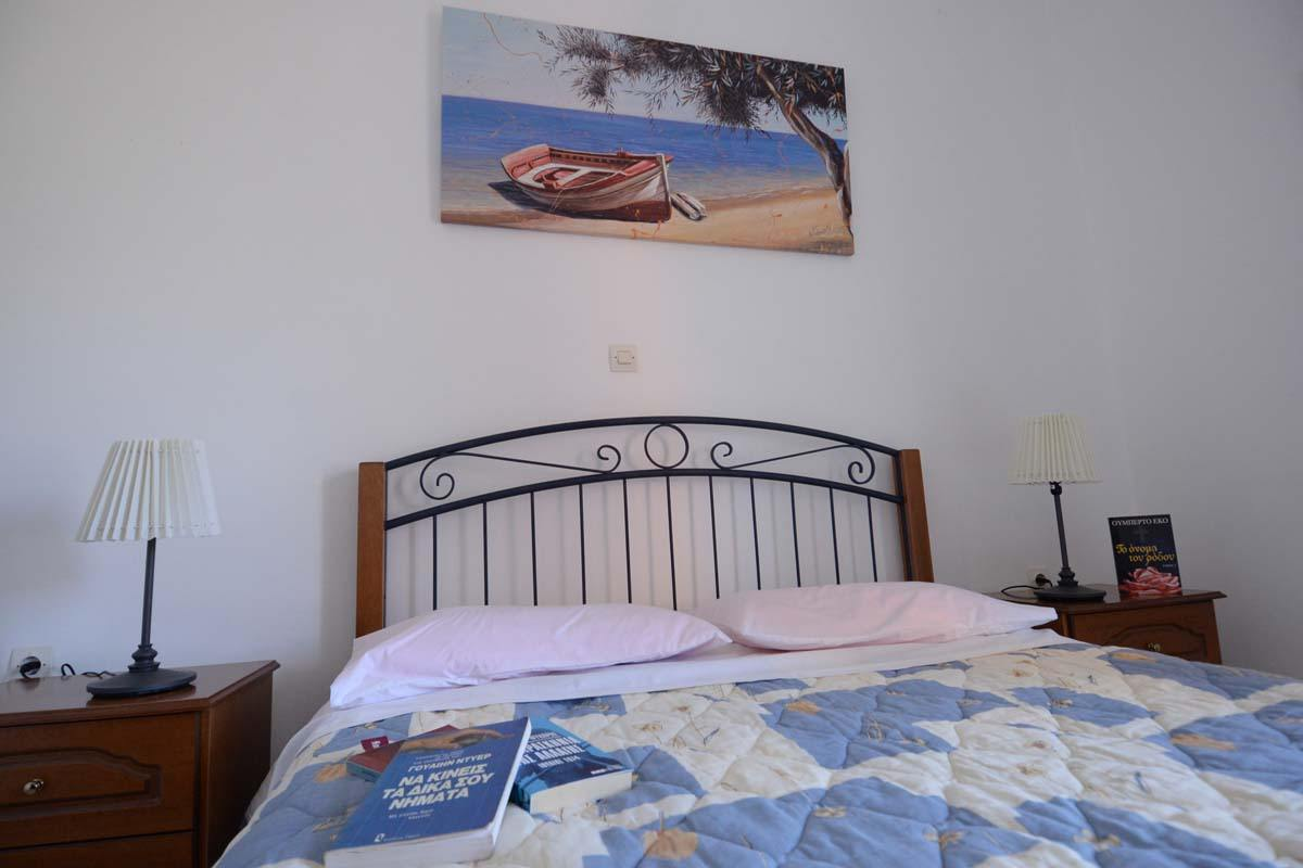 airbnb room in ponti beach - airbnb accommodation in lefkas - ionian summer