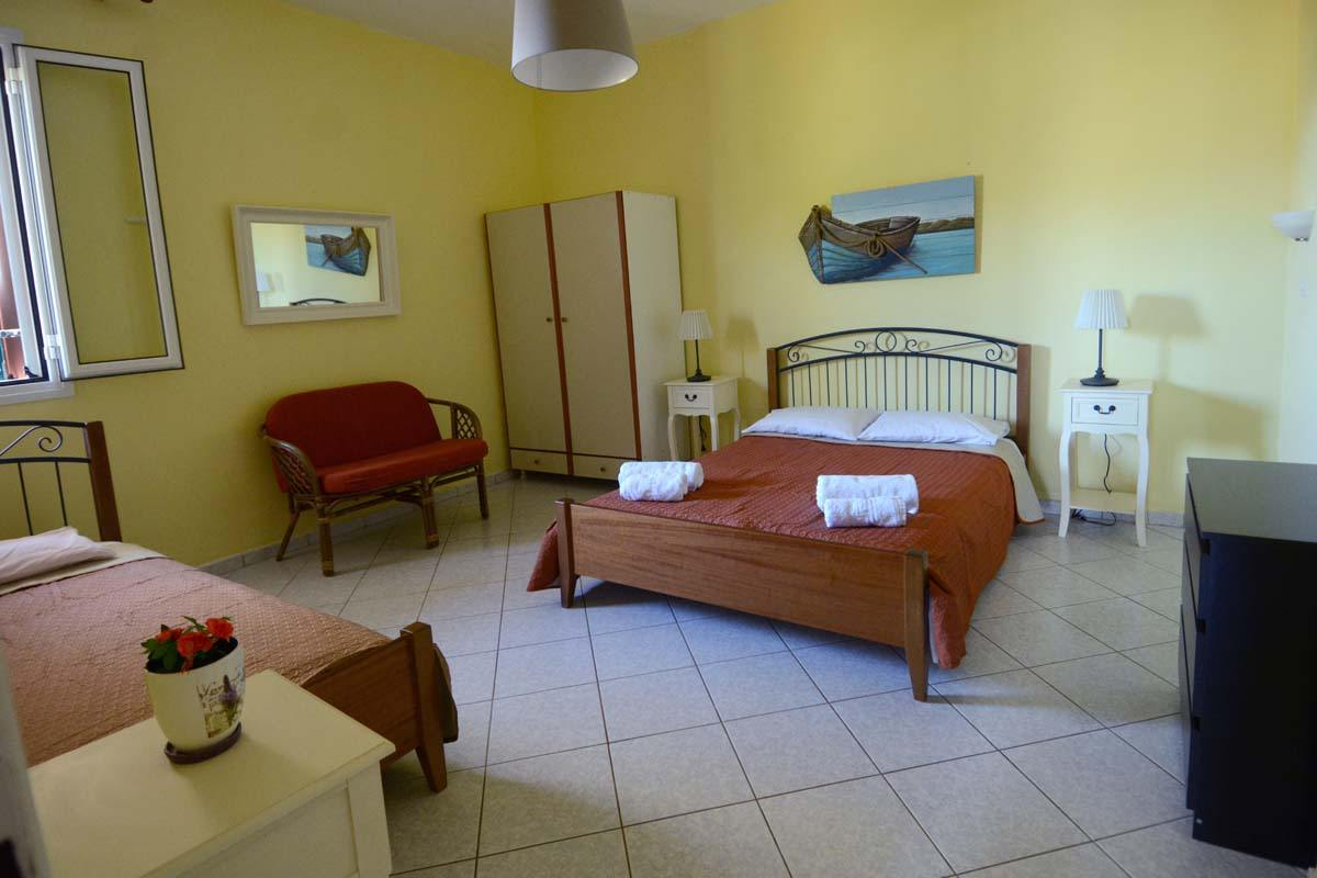 family apartments in lefkada - family rooms - ionian summer