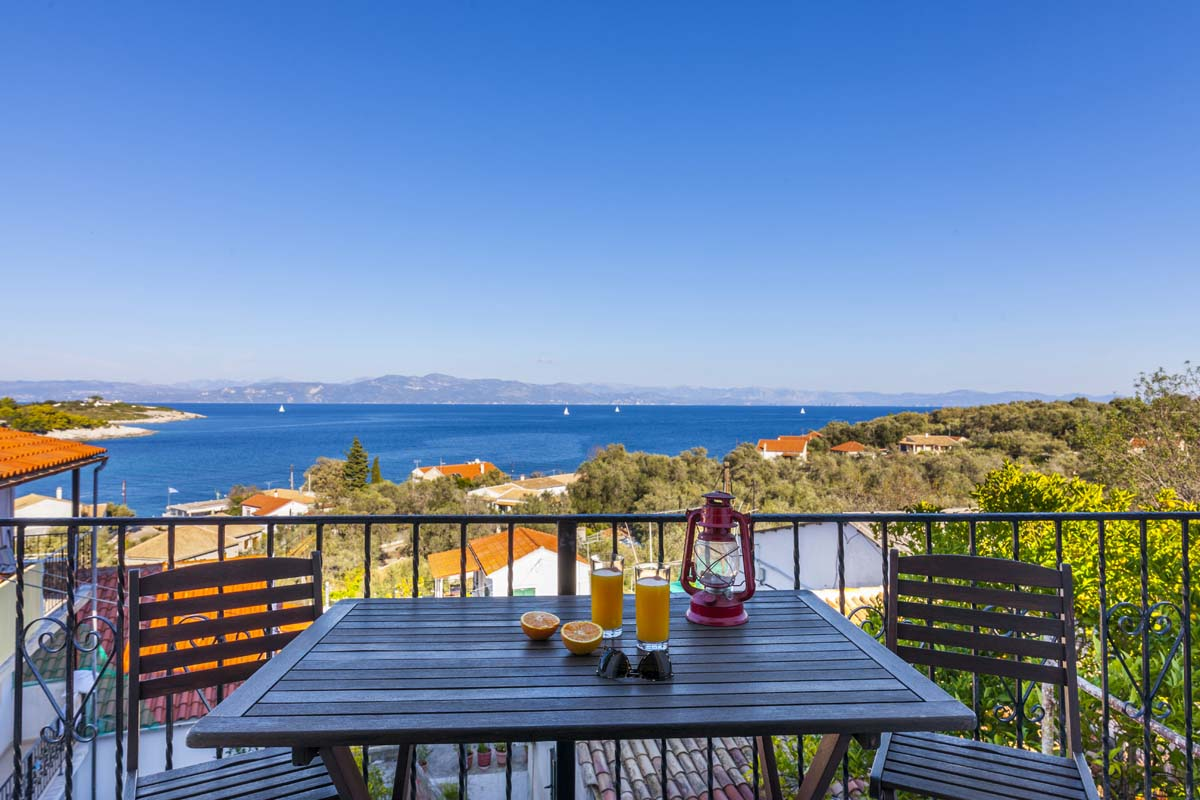 paxos accommodation - paxos gaios apartments - ionian summer