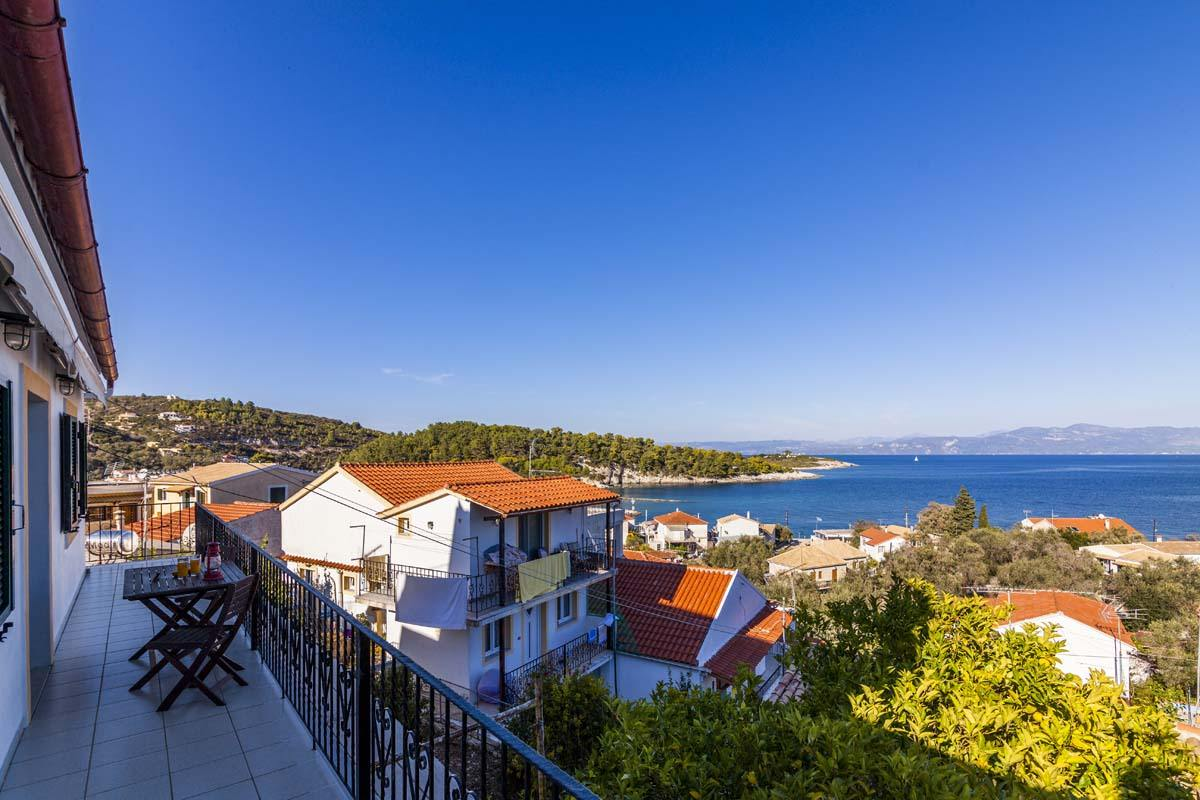 accommodation in paxos - apartments in paxos - ionian summer