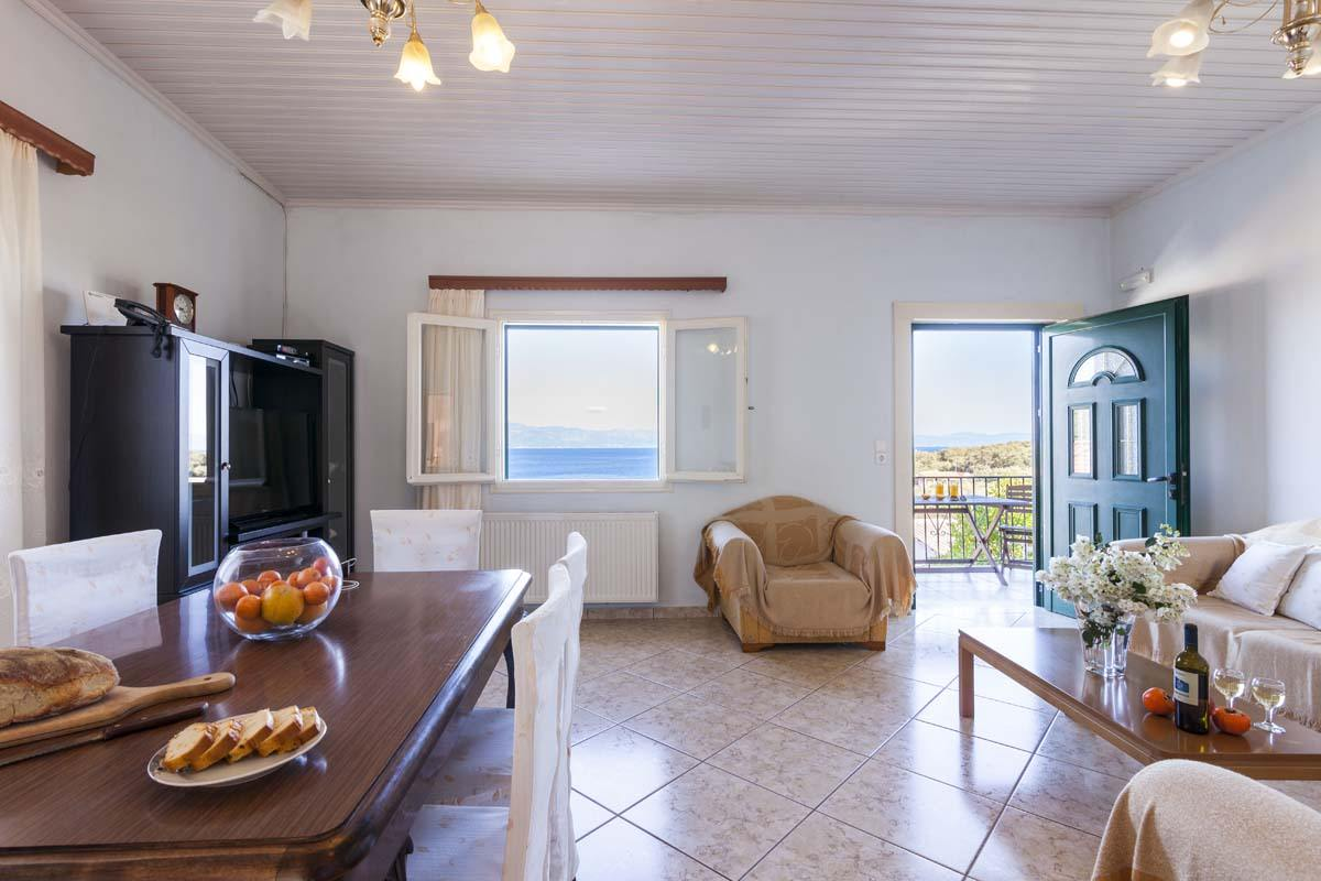 gaios accommodation - paxos apartments - ionian summer