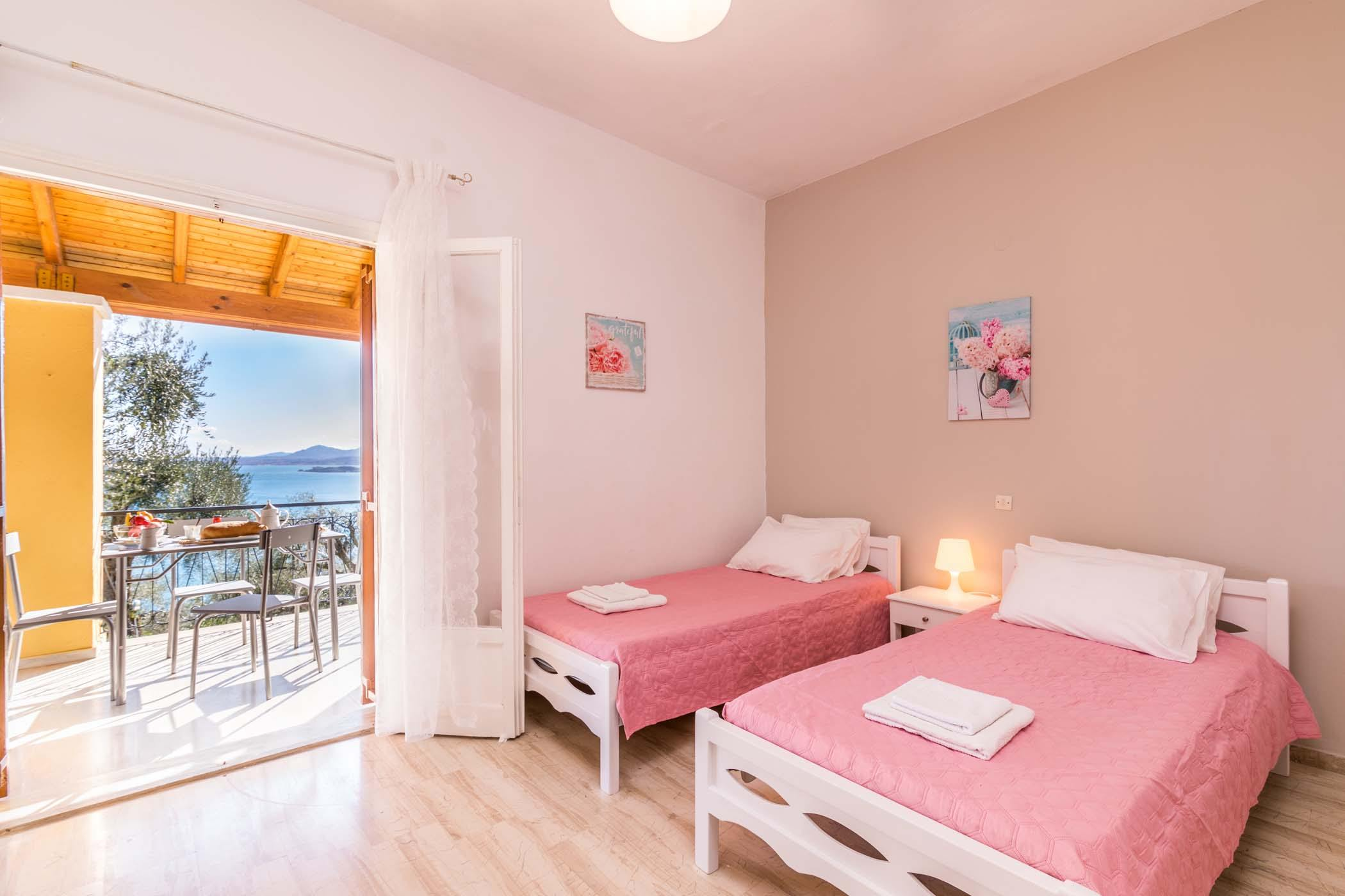 ipsos apartments - ipsos booking - ionian summer