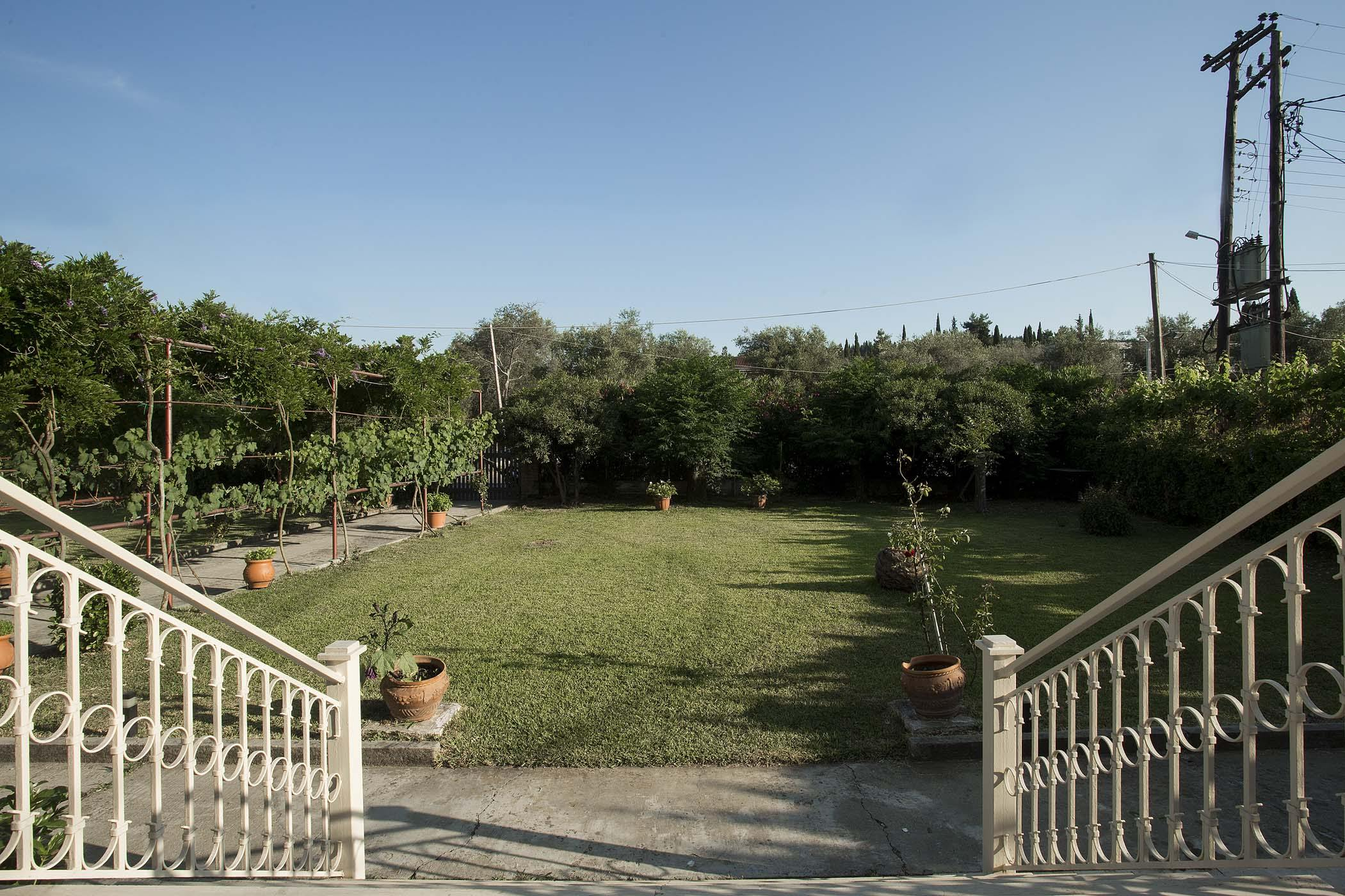 corfu family house - corfu airbnb accommodation - ionian summer