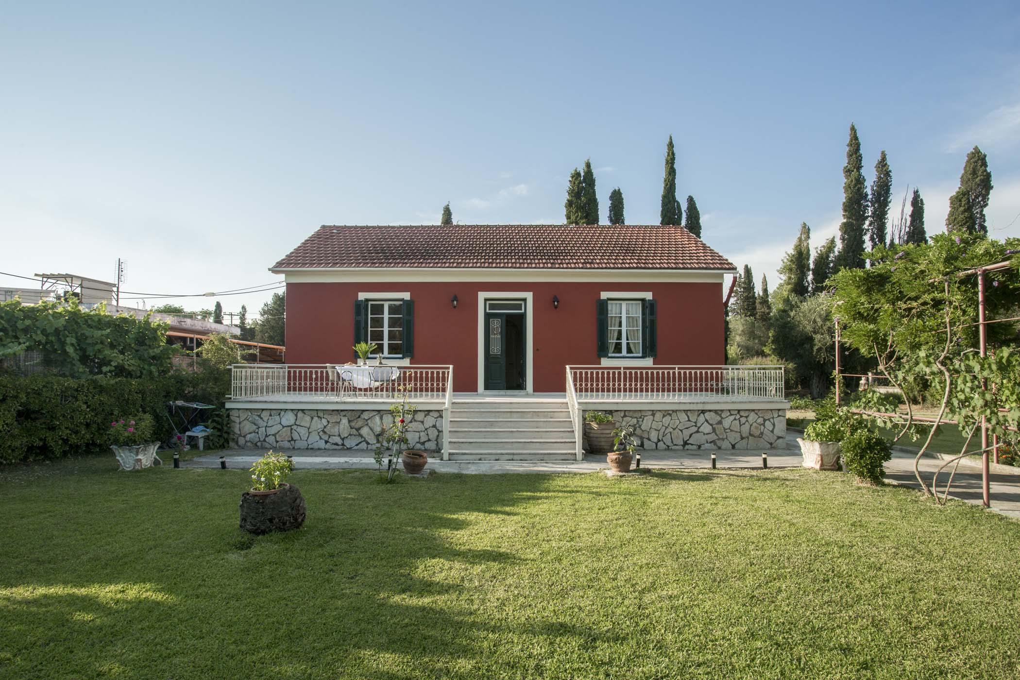 corfu holiday house - corfu house airbnb - ionian summer