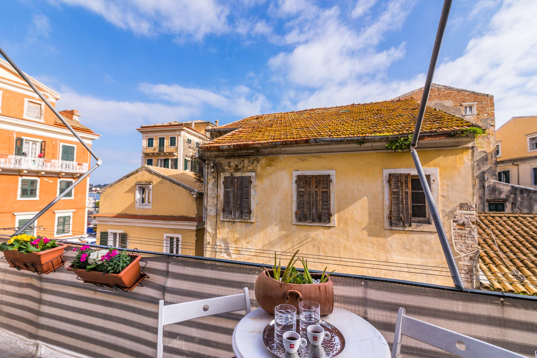 corfu town apartments - corfu town family apartments - ionian summer