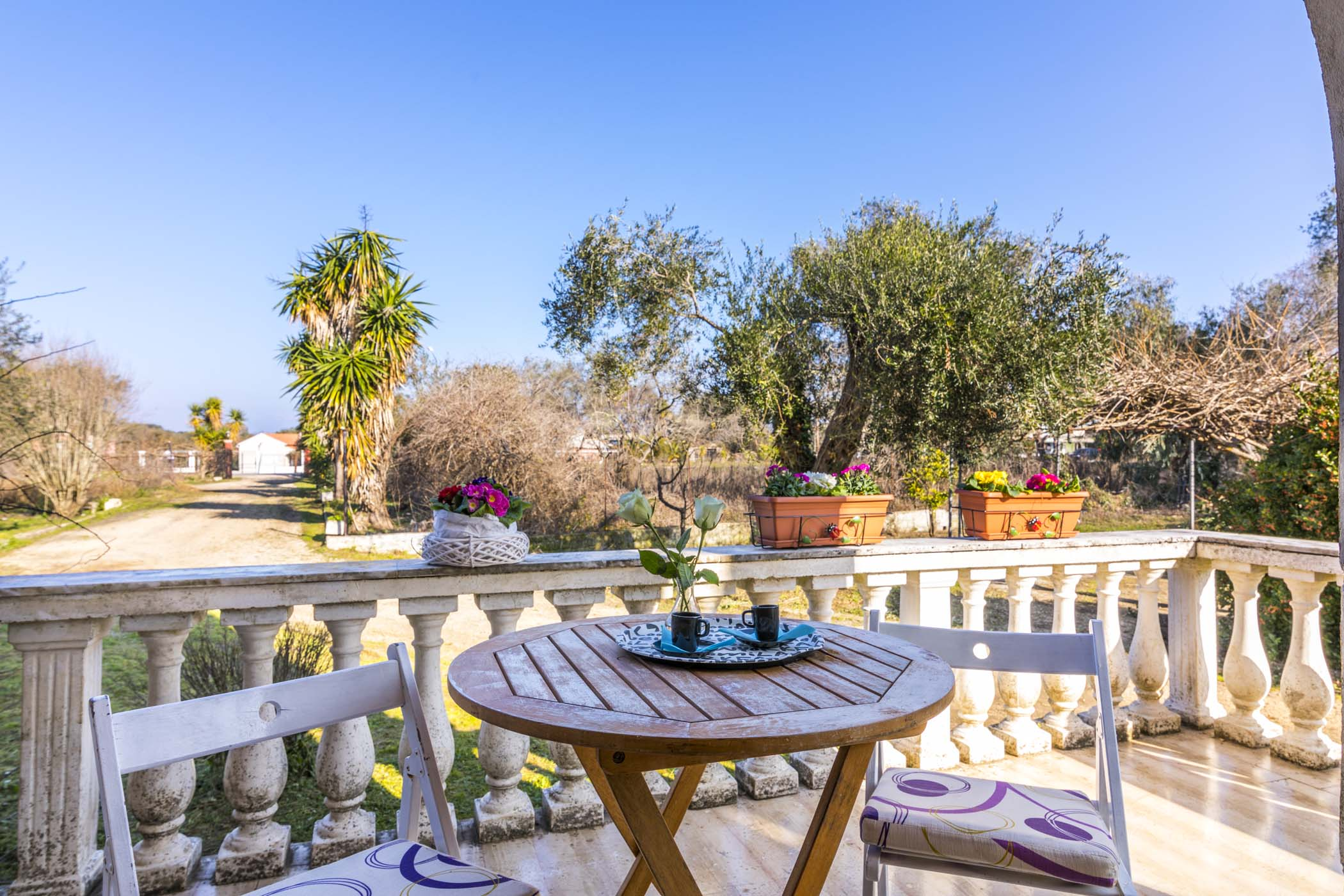 corfu roda accommodation - corfu roda apartments - ionian summer